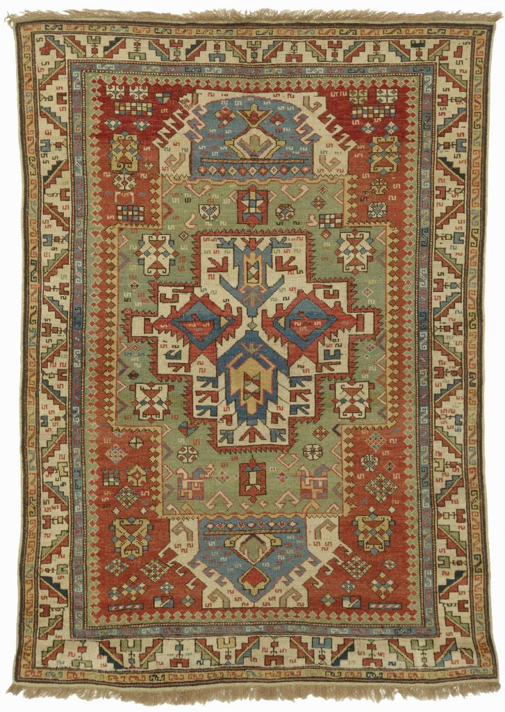 Shirvan rug, east Caucasus, first half 19th century.