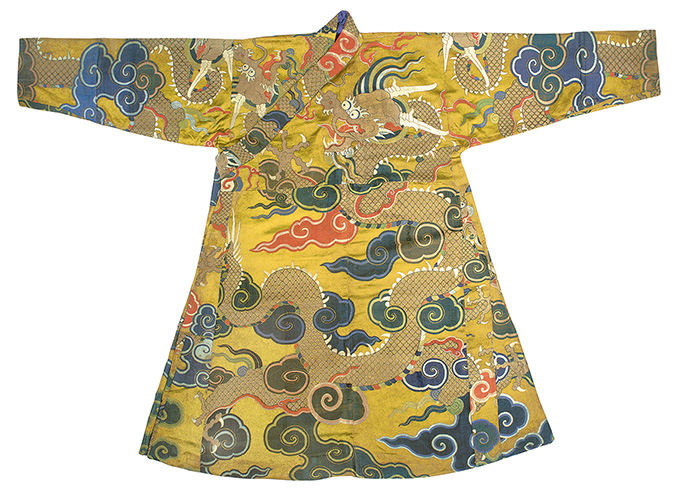 Dragon Court Dress (chuba),