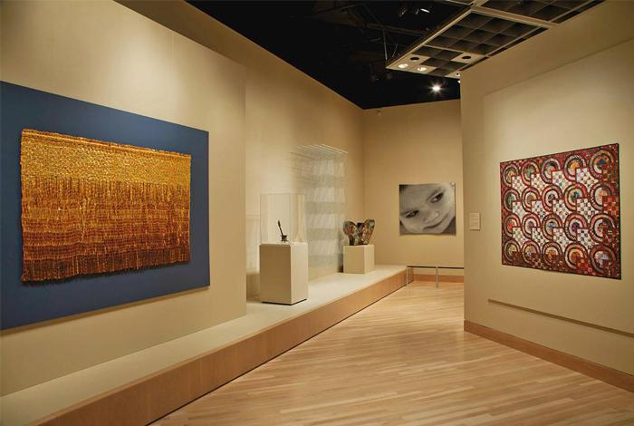 Textile art galleries at the Denver Art Museum