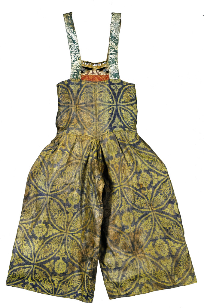 Central Asian silk trousers, 11th-12th century