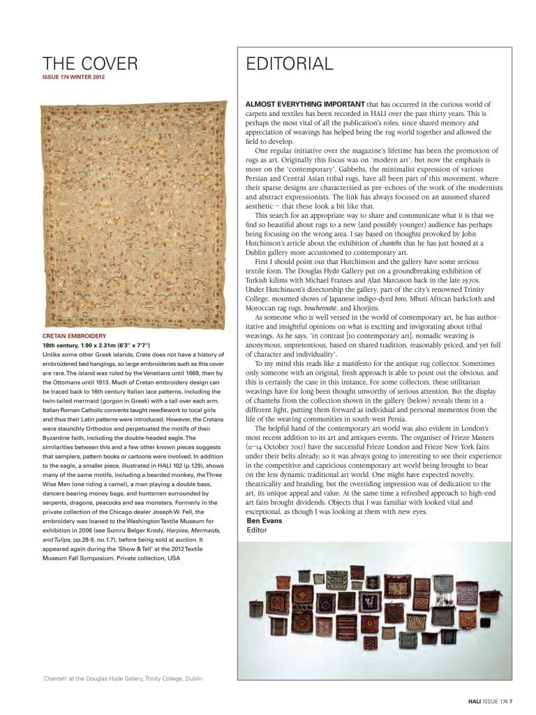 hali 174 editorial