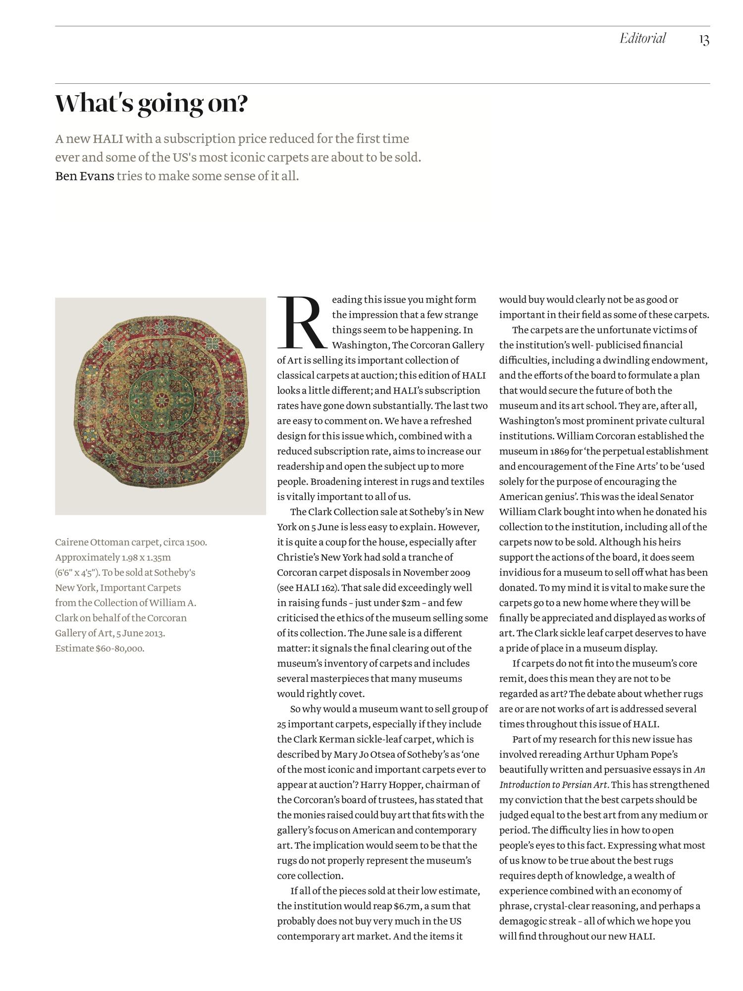 hali 175 editorial