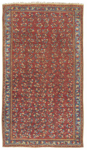 Ushak rug, West Anatolia, 16th century.