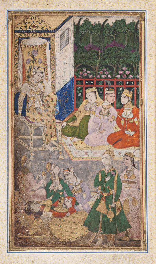 Miniature painting, Bukhara, ca. 1670