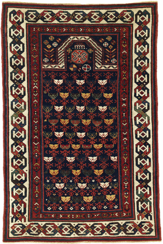 Talish Prayer Rug Southeast Caucasus 19th Century
