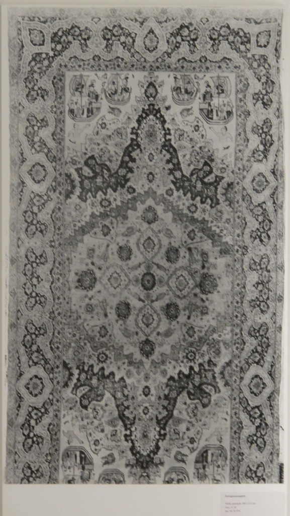 Inv. Nr. KGM  87,974. 'Portuguese' carpet (500 x 252 cm), Persia, seventeenth century. Acquired 1887 in Paris.