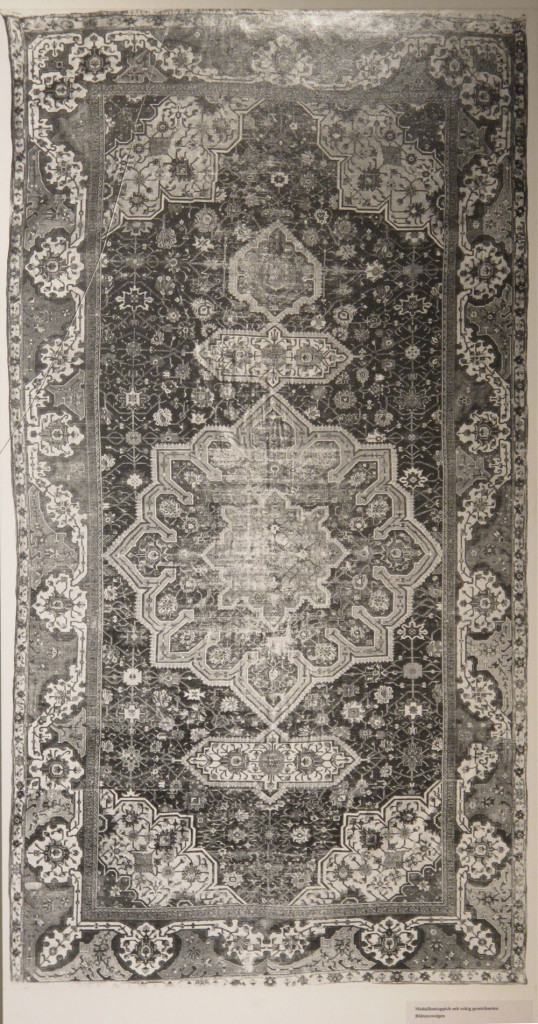 Inv. Nr. I 1313. North Persian carpet (490 x 265 cm), first half of sixteenth century. Acquired 1909.