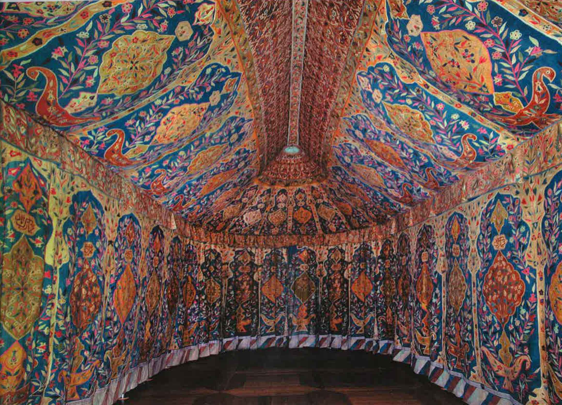 An Ottoman Tent In Wawel Royal Castle Hali