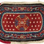 Tibetan saddle rug, second half 19th century, 88 x 59cm