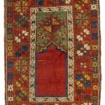 Mujur prayer rug, Turkey, mid 19th century, 135 x 92cm