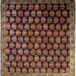 Persian Silk brocade, circa 1800, 100cm x 100cm
