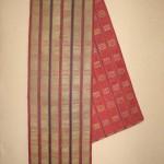 Moroccan silver weaving, circa 1850, 280 x 50cm