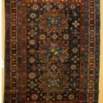 Lesghi Kuba rug, East Caucasus,  circa 1880. 165 x 122 cm