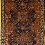Zeikhur rug, northeast Caucasus, 1890 ca. 114 x 186 cm