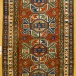 Chelaberd rug, Barda district, Karabagh, Caucasus, circa 1890, 220 x 125 cm