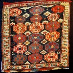 Shahsavan sumakh bag, 0.46 x 0.46cm, second half 19th century