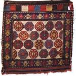 Shahsavan sumakh bag, 0.57 x 0.55cm, mid 19th century
