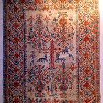 Carpet from Pescocostanzo, Abruzzo, Southern Italy, end 18th century, 146 x 218 cm