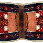 Tibetan saddle rug, second half 19th century,  136 x 67cm