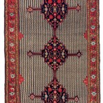 Khamseh rug, southwest Persia, circa 1880, 397 x 188cm
