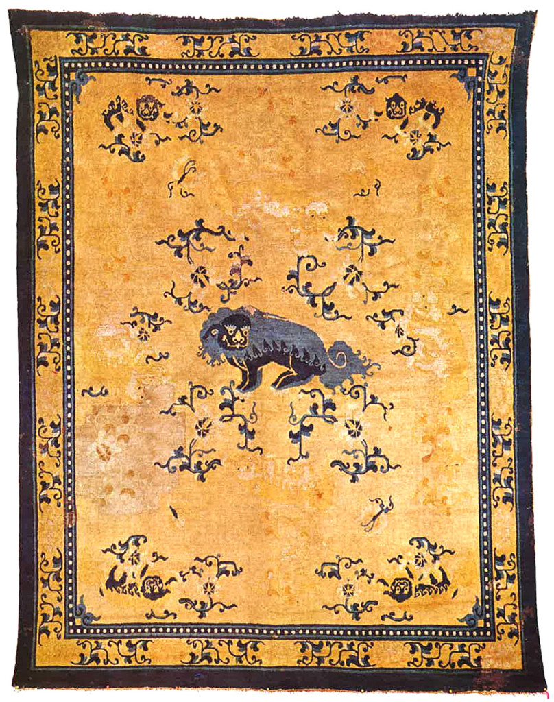 Chinese Carpets In The V Amp A Hali