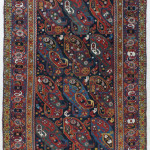 Kkamseh rug, southwest Persia, 1880, 296 x 164cm