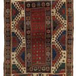 Borjalu Kazak rug, Caucasus, 1870, 229 x 132cm