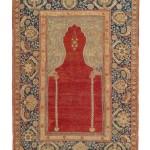 Transylvanian prayer rug, west, Anatolia, 189 x 132cm, end 17th century