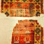 Konya prayer rug fragments