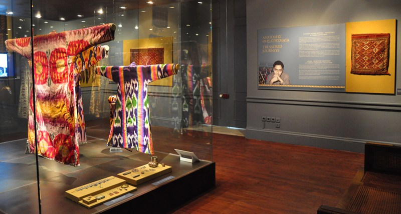 Rug & Textile Gifts to the Corfu Museum of Asian Art - HALI