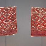 A pair of Saryk Turkmen chuvals, 19th century. Sam Coad, Bristol, UK