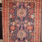 Afshar rug, southwest Persia, 19th century, Mark Santos, Portland