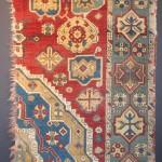 East Anatolian rug fragment, 18th century. Ben Benayan, CA