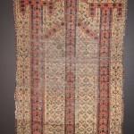 Beshir Turkman prayer rug fragmnet, 19th century. Fred Hazin, CA