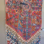 Californian dealer Fred Hazin's fragmnet of a Bukhara large medallion suzani