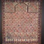 A fine Shirvan prayer rug dated 1270 AH/ 1853 AD, east Caucasus. Dewitt Mallary, New York