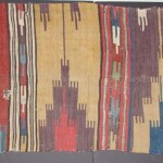 A Central Anatolian kilim fragment, 18th century. Unknown owner