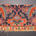 Sauj Bulag rug fragment, west Persia, 19th century. James Cohen, London