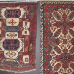 Two northeast Caucasian rugs, 19th century. Ron Hort, Minneapolis
