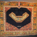 Senneh saddlecover, dated 1295 AH/1878 AD, West Persia