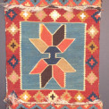 Avar flatwoven bag face, early 20th century,  Rodney McDonald, Rochester