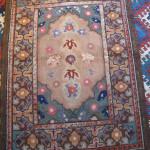 American hooked 'Transylvanian' rug, DeWitt Mallary