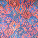 Detail of a Baluch rug, late 19th century, northeast Persia
