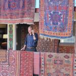 Textile art dealer John Ruddy from Sante Fe