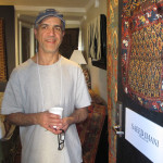 Exhibitor Saeed Imami from  Seattle