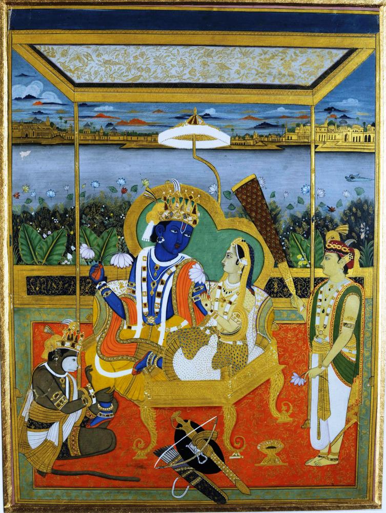 La coronación de Rama