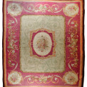 "Aubusson rug, 4.86 x 4.06 m (16' x 13' 4""), 19th Century, Gallery Yacou"