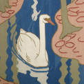 Lot-297thumbnail---tapestry-Five-swans---detail