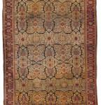 Heriz carpet, northwest Persia, estimate $7,0-00-10,000