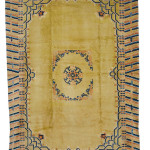 Lot 216, Chinese Carpet, early 20th century, estimate $10-15,000